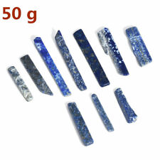 50G Irregular Lapis lazuli Quartz Blue Crystal Point Specimen Healing Stone