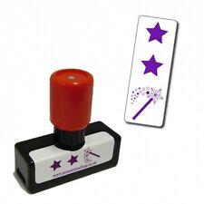 ST71 2 Stars & a Wish Pre-inked Stamper School Teacher