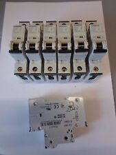 SIEMENS 5SY61 C6 6 Amp 6KA SINGLE POLE MCB interruttore automatico.