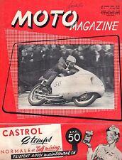MOTO MAGAZINE 6 MAI 1956 RARE