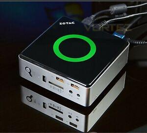 ZOTAC ZBOX Nano AQ01 Mini PC - AMD 4GB RAM 320GB HDD, All softwares installed.,,
