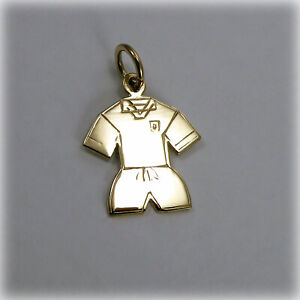 9ct Gold Football Kit Charm