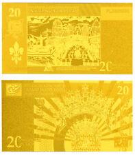 "★★ POLOGNE / POLAND : BILLET POLYMER  "" OR "" DU 20 ZLOTYCH ★★"