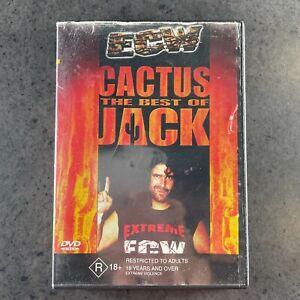 ECW the best of Cactus Jack DVD rare