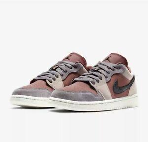 """Air Jordan 1 Low """"Canyon Rust"""" Size Uk 8"""
