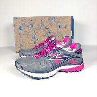 Brooks Ravenna 5 Grey/Pink Women's Running Shoes Trainers Size UK 3.5/EUR 36