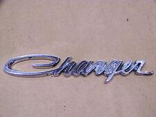 1971 72 73 74 DODGE CHARGER DOOR OR FENDER EMBLEM #3504807 OEM
