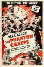 "The Phantom Creeps Movie Poster Replica 13x19"" Photo Print"