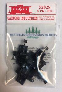Caboose Industries 5202S Sprung Ground Turnout Throws (5x202S)     MODELRRSUPPLY