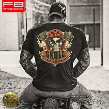 T-Shirt Maglietta Respect For Bikers Harley Davidson Skull V-Twin Performance