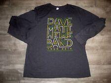 Retro Dave Matthews Band Summer 2016 Tour Concert Long Sleeve T-Shirt Shirt 2XL