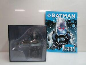 Mr. Freeze DC Eaglemoss Batman Universe Collectors Bust #12 w/ Magazine