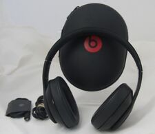 Beats by Dr. Dre Solo HD Drenched Headphones - Black   45-1B