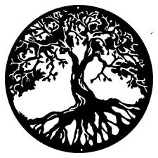 Tree Of Life Laser Cut Out Home Decor Silhouette Metal Sign 29x29.5  RVG281B