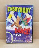 Everybody Dance! (DVD, 2003) Kimbo Educational Video NEW & SEALED