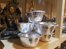 7X Almunium Tibet Tibetan Buddhist Water Offering Bowl For Focus Ritual Vessel