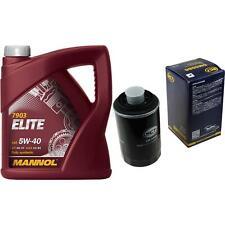 Ölwechsel Set 5Liter MANNOL Elite 5W-40 + SCT Ölfilter Service KIT 10164400