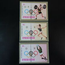 TCHAD N°275/277 JEUX OLYMPIQUES MUNICH 1972 NEUF ** LUXE MNH
