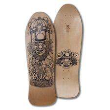 """H-Street Schultes Klown Reissue Skateboard Deck - 9.9"""" Natural/Black"""