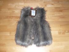 Fell Weste * Fell-Chasuble *Fake Fur* v. QS by S. OLIVER, Gr. M, NEU!!!