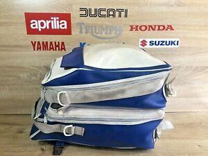 BAGSTER BAGLUX BLUE WHITE OMEGA TWIN TANK BAG 8230 TB830