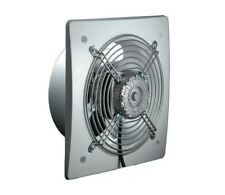 200mm Silent Industrial Extractor Fan 450m3/h Commercial Axial Ventilator