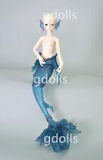 Mermaid 1/4 BJD doll FREE FACEUP+ EYES + Animal body blushing