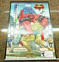 Street Fighter V Arcade Edition Poster Signed Yoshinori Ono NYCC E Honda Zangief