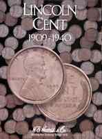 H.E. Harris Lincoln Cent Coin Folder 1909-1940 #2672