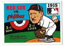 1971 Fleer Laughlin 1915 World Series Card #13 Babe Ruth Red Sox v Phillies VGEX