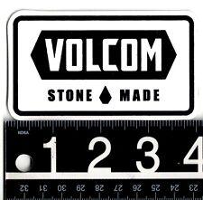 VOLCOM STONE MADE STICKER 3.75 in. x 2.5 in. Volcom Skate Snow Surf Decal