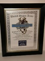 'BAPTIZED IN THE FIRE' PRINT ~ COMBAT INFANTRYMAN BADGE / w/Free Custom Printing