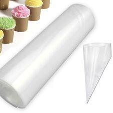 50x/Rollo engrosada ello las tuberías Bolsa glaseado Fondant Pastel Decoración Repostería Kits De Punta