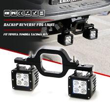 Backup Reverse Tow Hitch +2x 16W Led Fog Lights Bar Fit Toyota Tundra Tacoma Suv(Fits: Toyota)