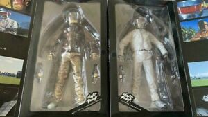 Daft Punk Discovery V.2.0 Real Action Heroes Figure Medicom Toy Set of 2 New