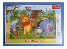 Puzzle Trefl - 15 pezzi - Winnie the Pooh - cm 26x16 - cornice cm 33x23