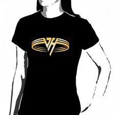 VAN HALEN - Gold Rings Ladies/Girls Shirt - NEW - Size 10