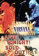 NIRVANA - LIVE TONIGHT SOLD OUT - REGION 2 DVD - SMELLS LIKE TEEN SPIRIT +