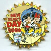Disney DCL New Year's Day Mickey Mouse Cruise Line Pin