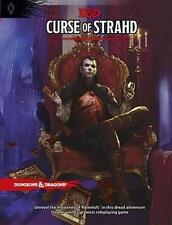 Dungeons & Dragons Curse of Strahd Adventure 5th Edition Hardcover