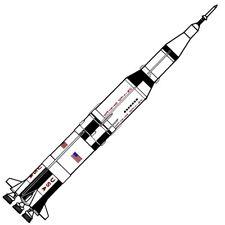 Dr Zooch Flying Model Rocket Kit 11 Saturn V