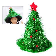 Christmas Xmas Tree Hat Adult Fancy Dress Unisex Festive Costume Cap Party Wear