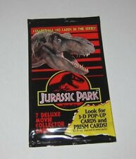 Jurassic Park - 1x Pack of Movie Collector Cards - 1993 - NEW - AUS RELEASE