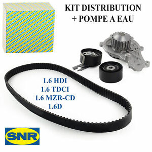 Kit Distribution + Pompe a Eau SNR KDP459.420 206 207 3008 307 308 407 1,6 Hdi