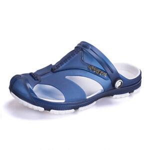 Summer Men Beach Hollow out Sandals Flip Flops Slippers Flat Heel Casual Shoes