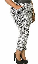 The Luxe Mode Plus Size Animal Queendom Leopard Print Harem Pants