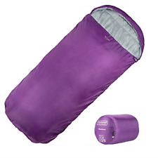 XL Sleeping Bag by Highlander – Extra Large Pod Design perfect for Camping, and