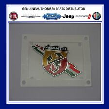 Fiat abarth 500, punto grande evo lightning côté abarth badge logo gen 735495888