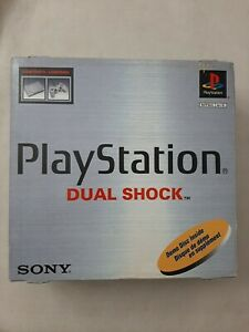 Sony PlayStation 1 PS1 Dual Shock Original Box Only 1997 1998 Vintage Game