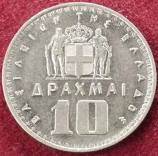 Greece 10 Drachma 1959 (C1610)